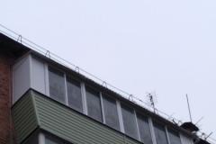 отделка «под ключ» смежных балконов в «хрущевке» с увеличением в стороны в г.Суворов