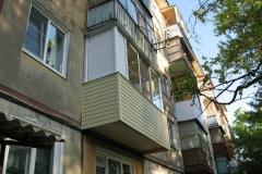 Остекление балкона в Туле