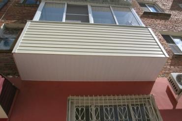Фото балкона после остекления