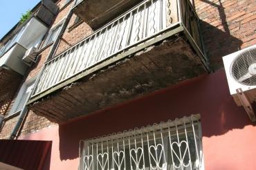 Фото балкона до остекления