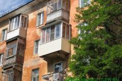 Остекление отремонтированного балкона