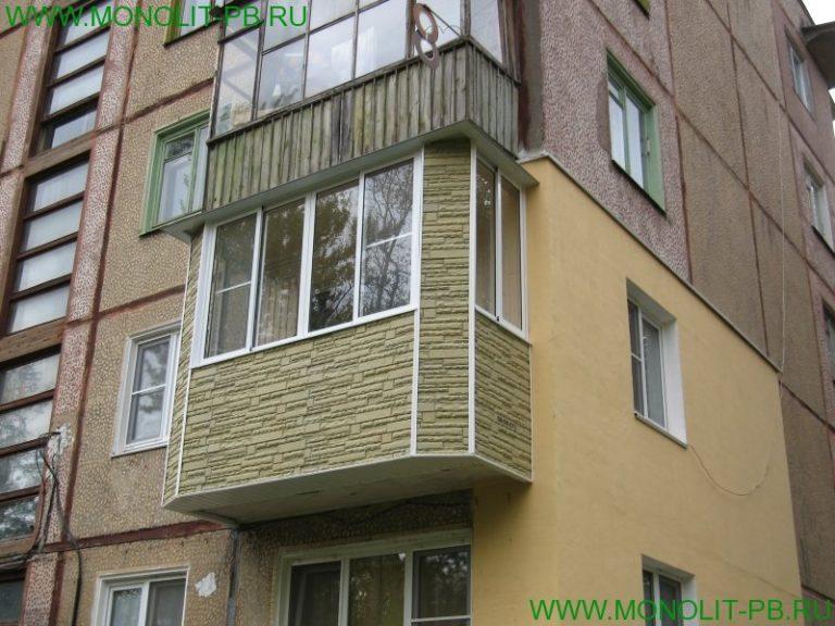 Балконы под ключ в туле от профессионалов пб монолит, низкая.